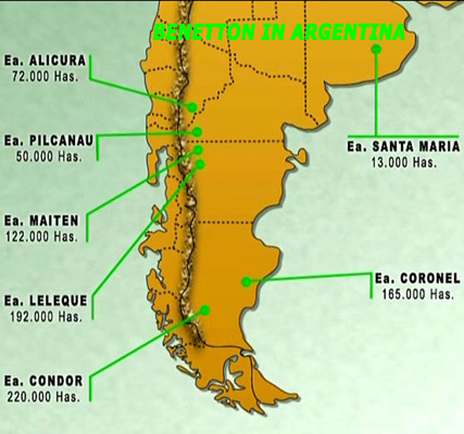 Benetton Map