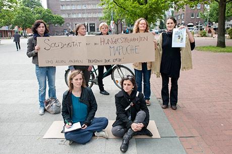 Hannover en Solidaridad con el Pueblo Mapuche en Chile