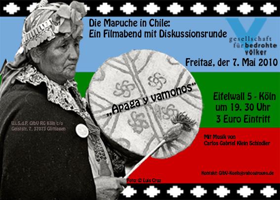 Mapuche info in Koln