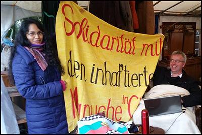 Solidarischer Hungerstreik mit den Mapuche-Gefangenen