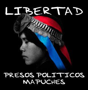 Libertad a presos Mapuche