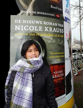 Natividad Llanquileo in Amsterdam