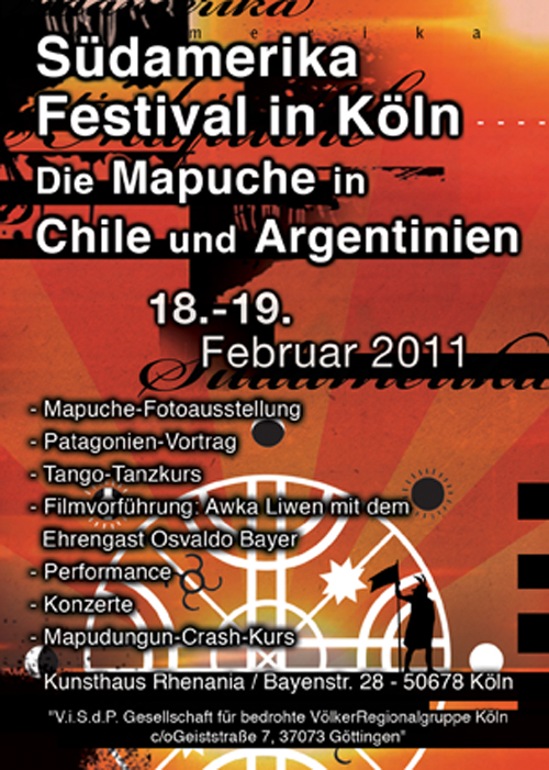 Mapuche - Süamerika Festival in Köln 2