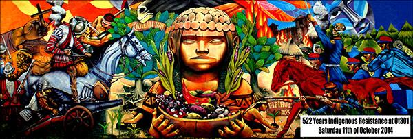 Image: 522 années de Résistance des peuples autochtones