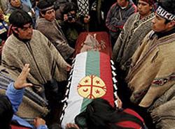 La morte di un Mapuche