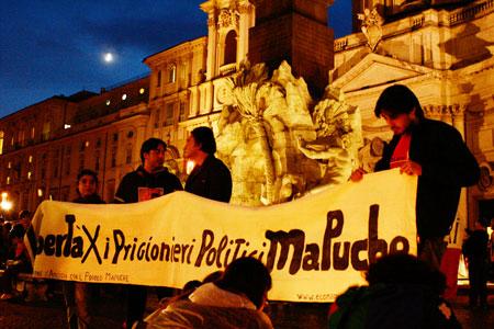 Solidarietà con i Prigionieri Politici Mapuche