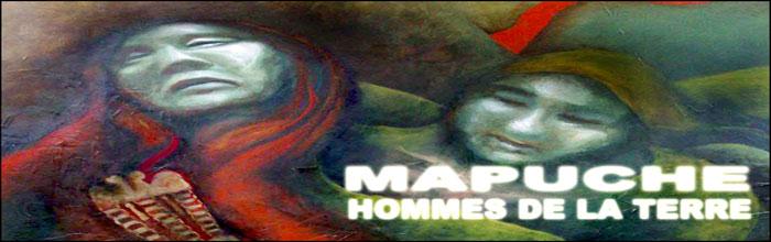 Mapuche-hommes de la terre